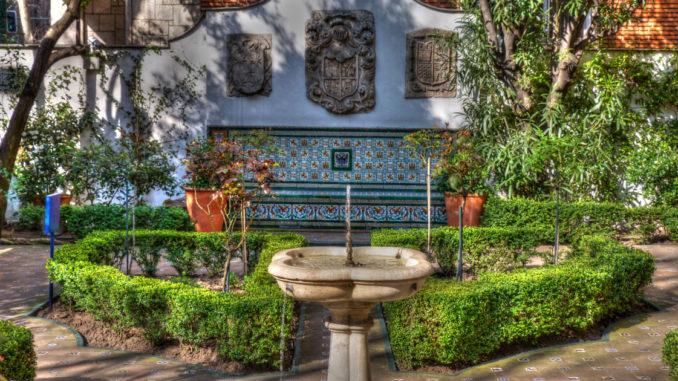 Reapertura del Jardín del Magnolio del Museo Nacional del Romanticismo